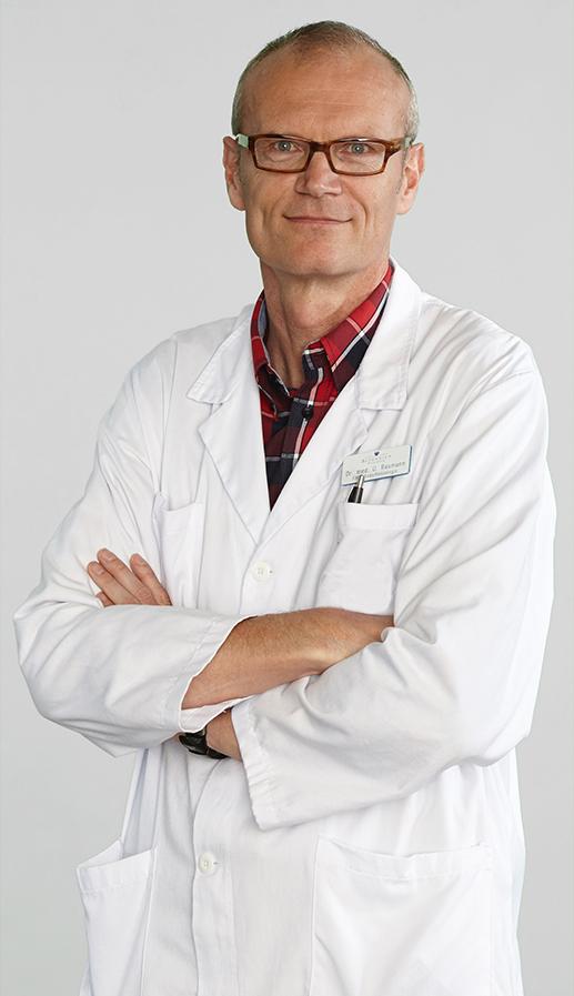 Geschäftsführer Dr. med. Ueli Baumann